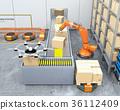機器人 存儲 儲藏庫 36112409