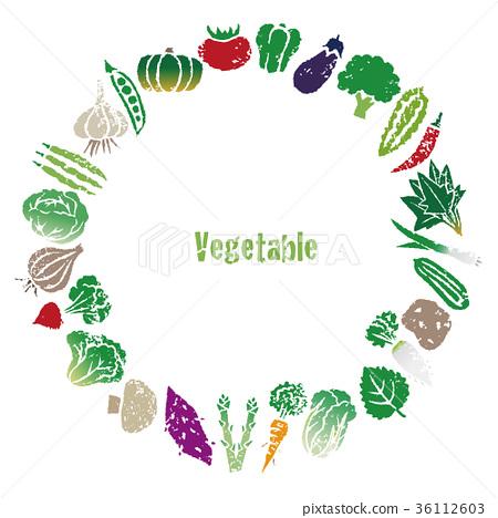 蔬菜 花環 租約 36112603