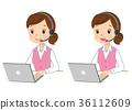 telephone, operator, female 36112609