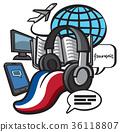 llustration of study french language 36118807