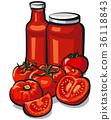 sauce tomato ketchup 36118843