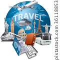 travel, flight, transportation 36118853