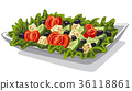 fresh vegetables salad 36118861