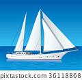 遊艇 帆船 航海 36118868