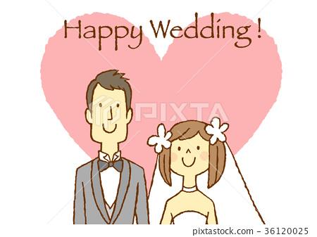 新郎新娘 婚禮 結婚 36120025