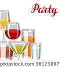 酒 酒精 玻璃 36123897