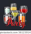 酒 酒精 玻璃 36123914
