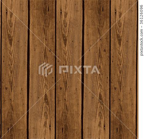 Wood Grain Board Vector Illustration Stock Illustration 36126096 Pixta