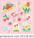 春天 春 矢量 36126163