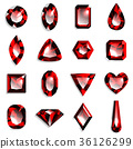 宝石红宝石 36126299