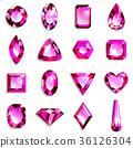 珠寶首飾 寶石 粉色 36126304