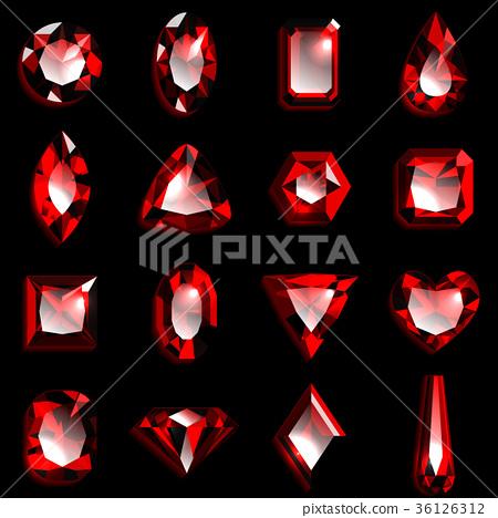 宝石红宝石 36126312