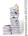 เอกสาร,กระดาษ,กอง 36127255