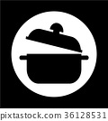 saucepan icon 36128531