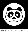 panda icon 36128561