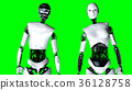 robot android 3d 36128758