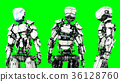 robot android 3d 36128760