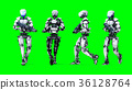 robot android 3d 36128764
