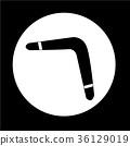 Boomerang icon 36129019