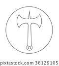 axe icon 36129105