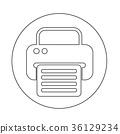 fax web icon 36129234