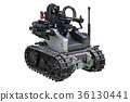 Military robot tank 36130441