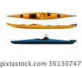 kayak, sea kayak, ocean 36130747