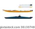 kayak, sea kayak, paddle 36130748