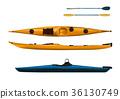 kayak, sea kayak, paddle 36130749