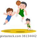 basketball, dunk shot, slam dunk 36134442