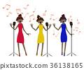 singer, singers, chorus 36138165