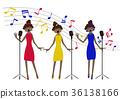 singer, singers, chorus 36138166