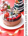 คริสต์มาส,เค้กวันคริสต์มาส,เค้ก 36139248
