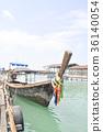 boat and terrace near the sea 36140054
