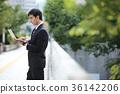 商务人士 商人 男性白领 36142206