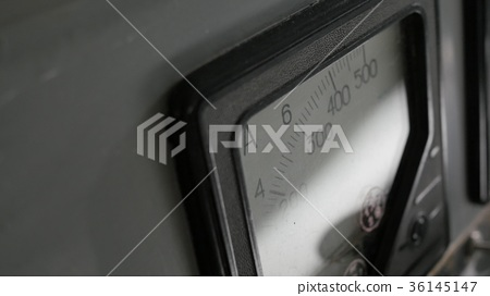 Old analog ammeter 36145147