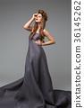 girl in long dress 36145262