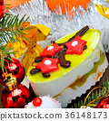 Christmas delicious cake 36148173