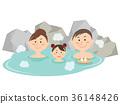 온천, 목욕, 욕실 36148426
