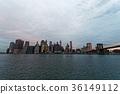 曼哈顿 建筑 景色 36149112