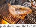 생선 구이, 숯불구이, 석쇠 구이 36149230