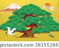 吉祥物 幸运符 日本风格 36155260