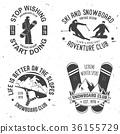 snowboarding, snowboard, vector 36155729
