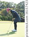 高爾夫球手 女生 女孩 36157423