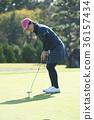 高爾夫球手 女性 女 36157434