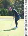 高爾夫球手 女性 女 36157438