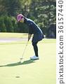 高爾夫球手 女性 女 36157440