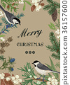 bird botanic christmas 36157600