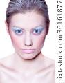 Winter makeup 36161877