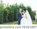 포토 웨딩 결혼 신랑 신부 36161997